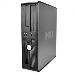 Dell OptiPlex 755 Desktop with 19-Inch Monitor (Intel Core 2 Duo 2.0GHz Processor,160 GB HDD, 4GB Memory, Windows 7 Professional)