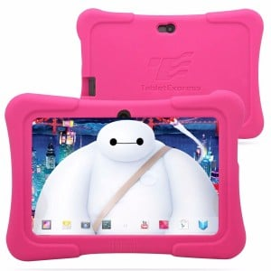 Dragon Touch 7 Quad Core Android Kids Tablet, with Wifi and Camera and Games, HD Kids Edition w Zoodles Pre-Installed (2015 New Model, Y88X with Pink