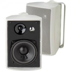 Dual LU43PW IndoorOutdoor Speakers (White)