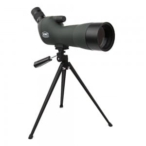Emarth GOMU 20-60x60AE Spotting Scope, 45-Degree Angled Eyepiece, Waterproof and Fogproof, with Tripod for Outdoor Sporting Activities, Optics Zoom 36-19m100