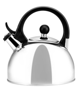 Farberware Classic Stainless Steel Teakettle, Brooklyn, 1.3-Quart