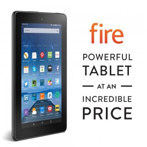 Fire, 7 Display, Wi-Fi, 8 GB - Includes Special Offers, Black