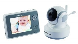 Foscam FBM3501 Wireless Digital Video Baby Monitor - PanTilt, Nightvision and Two-Way Audio with 3.5 LCD