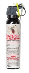 Frontiersman Bear Spray - Maximum Strength - 7.9 oz (30-Foot Range) or 9.2 oz (Industry Maximum 35-Foot Range)
