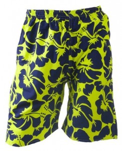 Fun Basics Mens Cool Design Lightweight Bathing Suit