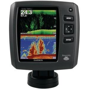 Garmin Echo 551dv Worldwide with Transducer