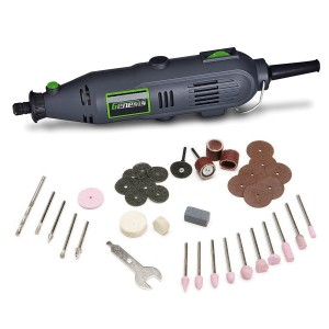 Genesis GRT2103-40 VS Rotary Tool with 40 Accessories, Grey