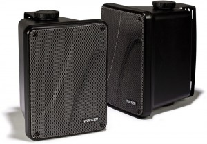 Kicker KB6000 Black Full Range indooroutdoor Speakers