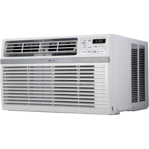 LG LW1015ER 10,000 BTU 115V Window-Mounted Air Conditioner with Remote Control
