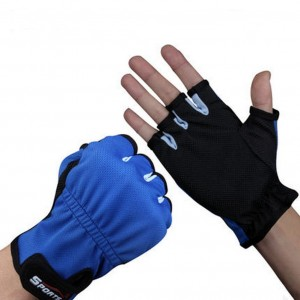 Luwint Outdoor Sports Fishing Gloves Quick-drying Breathable Fingerless, One Pair, Medium (Black)