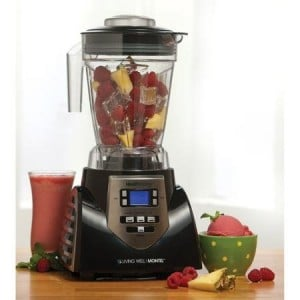 Montel Williams HealthMaster Elite 1200W 8-Speed Juicer, Blender & Food Processor