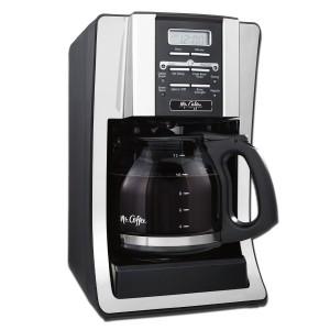 Mr. Coffee BVMC-SJX33GT 12-Cup Programmable Coffeemaker, Chrome