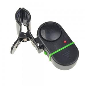 NEW Electronic Bite Fish Alarm Bell Fishing Rod Pole W LED light E1