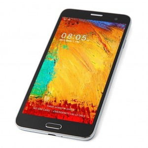 NOTE3-Style 5.7 3G Android 4.2 Smartphone(Dual SIM,IPS Screen,Quad Core,WiFi,Dual Camera) -Black Color