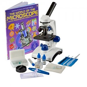 OM117L-XSP1 Student Microscope Gift Package Awarded 2015 Best Kids Microscope By TOP TEN Reviews