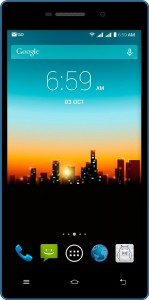 POSH Kick X511a - 5.0 IPS LCD, 4G, Android 4.4 Kit Kat, Quad-core, 8GB, 5MP Camera, Ultra Slim, Multi-colored, Dual Sim UNLOCKED Smartphone (Blue)