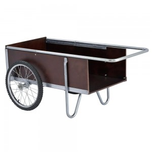 Sandusky Lee GC5332 6.5 Cubic Foot Galvanized Steel Edging Garden Cart, 52.5 Length, 21.25 Height, 31.50 Width