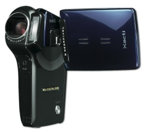 Sanyo Xacti CG6 6MP MPEG-4 Flash Memory Digital Camcorder (Blue)
