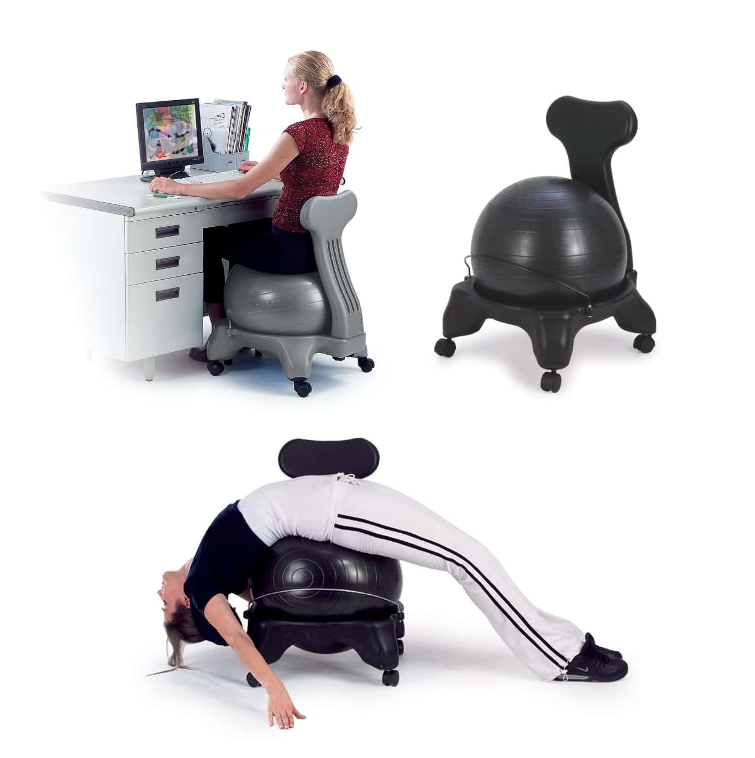 Balance Ball Chair Frame Only: Top 10 Best Office Ball Chairs In 2015 Reviews