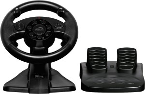 Speedlink Darkfire Racing Wheel for PCSony with Force Vibration Black