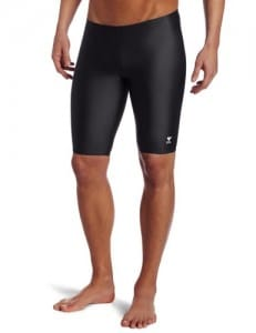 TYR Sport Men's Solid Jammer Swim Suit