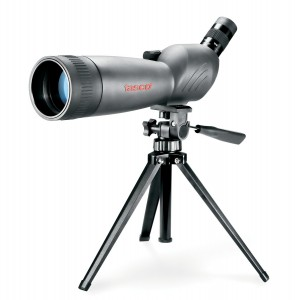 Tasco World Class 20-60x60 Zoom Spotting Scope wMountable Tripod & 45 degree EP