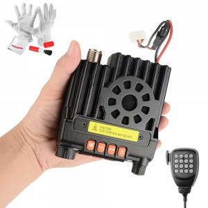 Tokmate TD8900 Portable Dual Band Transceiver VHFUHF 136-174400-480MHz VHF 25Watt UHF 20Watt Mobile Transceiver Amateur Ham Radio