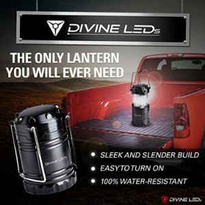 [Ultra Bright] LED Lantern - Best Seller - Camping Lantern - Collapses - Suitable for Hiking, Camping, Emergencies, Hurricanes, Outages - Super Bright