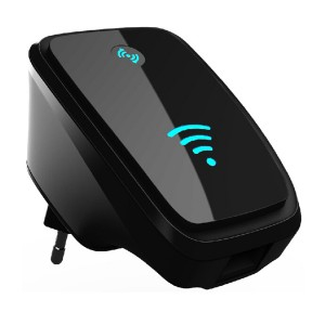 VAlinks® 300Mbps Multi-function Mini Wireless-N WiFi Range Extender Signal Booster 802.11nbg Network RepeaterRouterAP with WPS, 5 Working Modes Router,