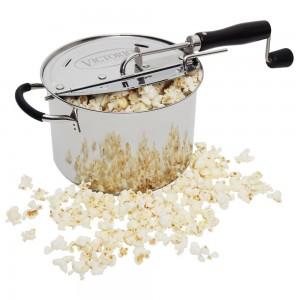 VICTORIO VKP1160 StovePop TM Stainless Steel Popcorn Popper