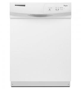 Whirlpool WDF110PABW 24 White Full Console Dishwasher - Energy Star