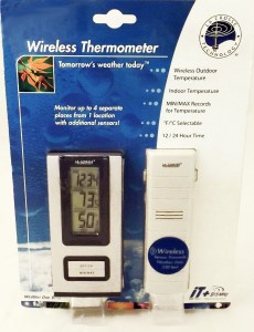Wireless Weather Stations Indoor Outdoor Thermometer & Sensor WS-9117U