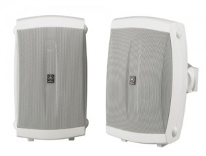 Yamaha NS-AW150WH 2-Way IndoorOutdoor Speakers (Pair, White)