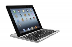 ZAGG PRO Bluetooth Keyboard for Apple iPad 2 iPad 3 iPad 4-Aluminum