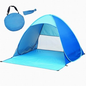 iCorer@ Automatic Pop Up Instant Portable Outdoors Quick Cabana Beach Tent Sun Shelter Blue  sc 1 st  Top Portal Review & Top 10 Best Beach Tents in 2018 Review
