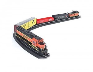 Bachmann Rail Chief Ready To Run Electric Train Set - Ho Scale