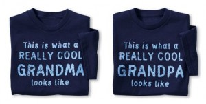 Collections Etc Really Cool Grandparent Novelty T-Shirt