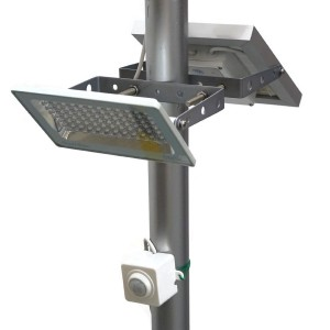 G580X Solar Street Light 730 Lumen Full Brightness, with Standalone Guardian PIR Motion Sensor and Lithium Battery