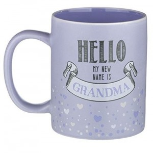 Grasslands Road Hello My New Name Is Grandma Mug