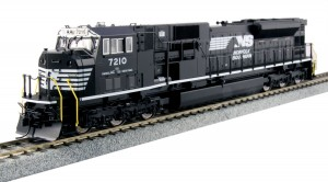 Kato USA Model Train Products #7210 HO EMD SD80MAC Norfolk Southern Locomotive