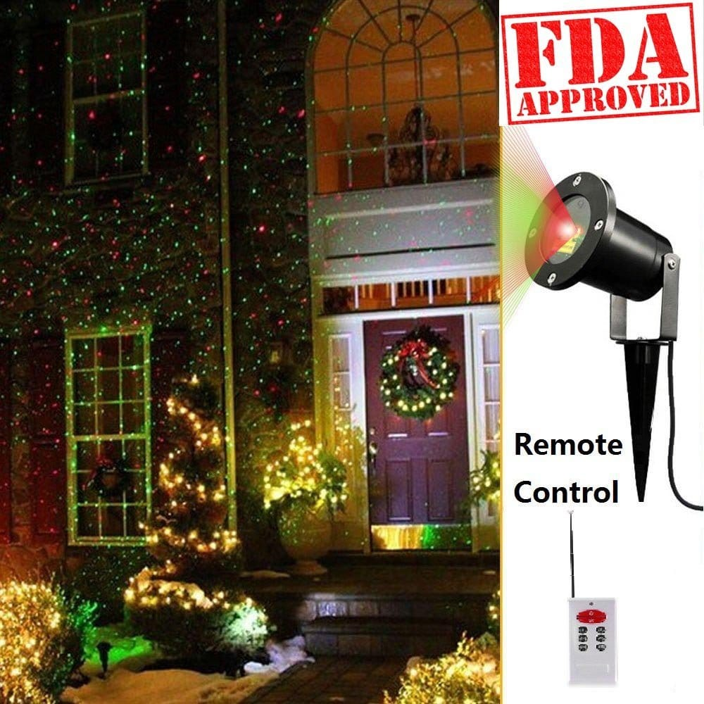 The Best Outdoor Laser Projector Lights For Christmas Decoration ...