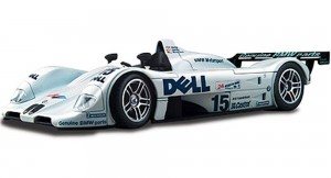Le Mans 1999 BMW V12 LMR Race Car #15, White - Maisto GT Racing 38882 - 118 Scale Diecast Model Toy Car