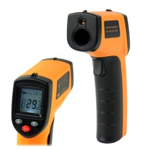 Leegoal Non-Contact LCD IR Laser Infrared Digital Temperature Thermometer Gun Point GM320 -50~330C