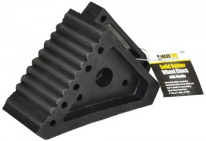 Maxxtow Towing Products 70072 Solid Rubber Heavy Duty Wheel Chock