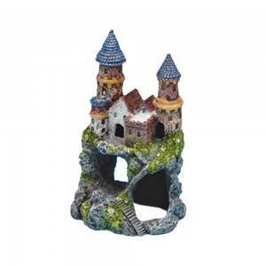 Penn Plax Enchanted Castle Aquarium Ornament