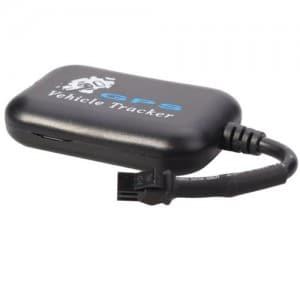 Portable Multi-Function LBS SMS GPRS Motorbike GPS Tracker - Black