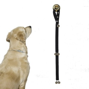 Potty Training Bells Help New Puppies & Older Dogs Learn Good House Manners Adjustable Loop & Length Fits Every Size Dog & All Door Handles