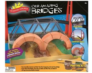 Scientific Explorer Our Amazing Bridges Model Building Kit