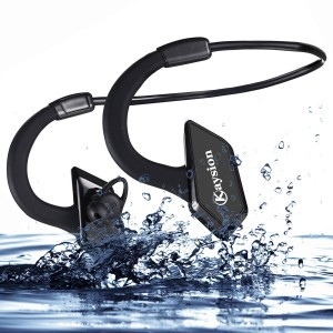 Waterproof IP66 Sweatproof Outdoors Sports Wireless Headsets KAYSION Bluetooth V 4.1