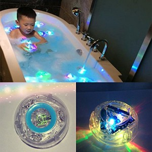 toyofmine Party in the Tub Toy Bath Water LED Light Kids Waterproof children funny time